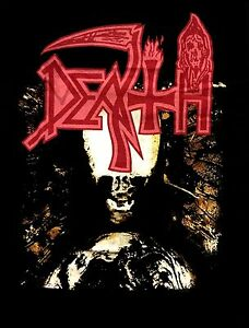 DEATH-cd-cvr-INDIVIDUAL-THOUGHT-PATTERNS-Official-2-Sided-SHIRT-SMALL-new