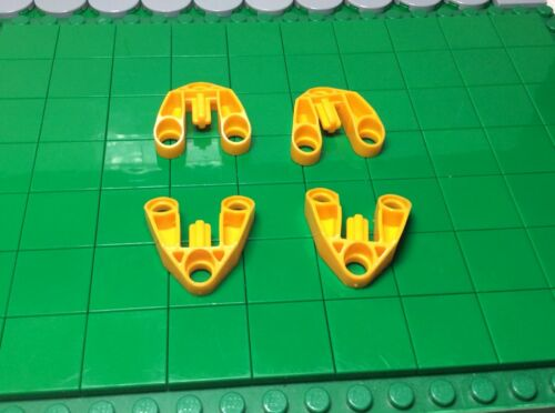 4 Piece 111 1 # Lego Connector technology 3x3 Yellow
