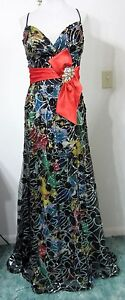 PRECIOUS-FORMALS-8-Dress-Gown-Avant-Colorful-Evening-Pageant-Gala-Ball-NEW