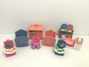 Fisher-Price-Loving-Family-Baby-Nursery-Pieces-Musical-Cradle-Mixed-Years