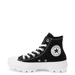 Details about Womens Converse Chuck Taylor All Star Hi Lugged Black NEW  Platform Sneakers