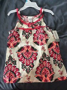 Carter-039-s-Toddler-Girl-039-s-Sundress-Pink-Red-Active-Wear-Size-5-NWT