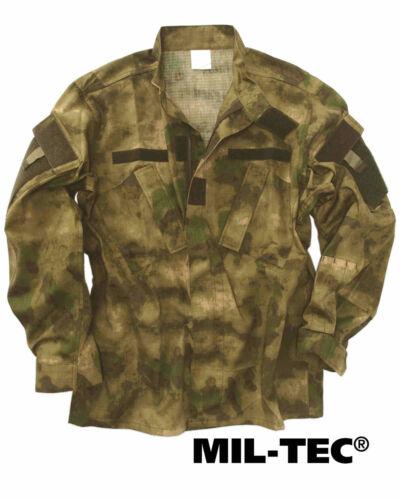 Mil-Tec US Veste de champ ACU Poco R//S MIL-TACS FG Impermeable Veste