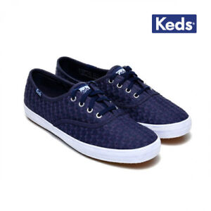 2d43b19d8e6 Image is loading New-Keds-Champion-Mini-Daisy-Sneakers-Navy-WF56423-