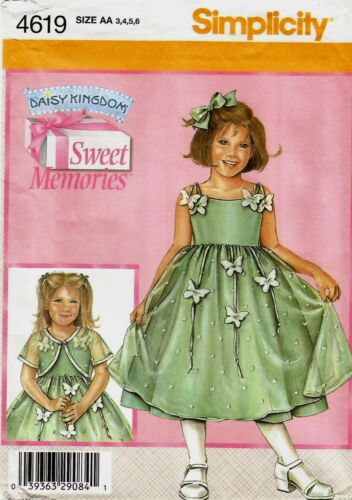 Simplicity Daisy Kingdom Sweet Memories Sewing Pattern Your Choice Child Girls