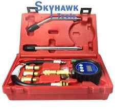 Pro Engine Compression Tester Petrol Lcd Digital Gauge Scale Diagnostic Kit