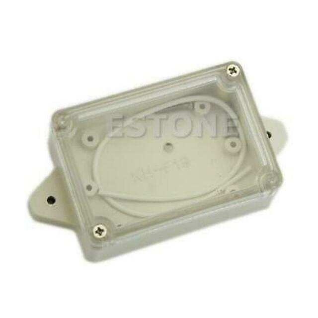 Plastic Waterproof Covers Clear Electronic Project Box Enclosure Case 85*58*33MM