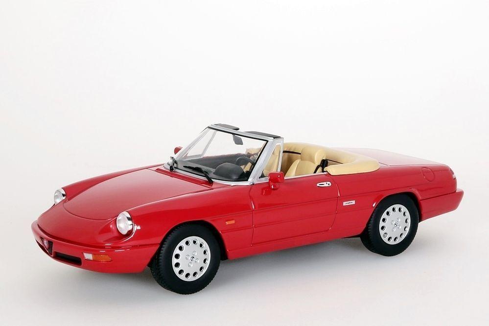 Alfa Romeo Spider 4, 1990 rot KK-Scale 1 18 NEU OVP