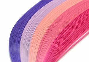 125 tiras de papel Quilling en Gris 5mm de ancho y 125gsm
