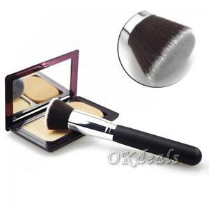 Face-Cosmetic-Kabuki-Foundation-Tool-Powder-Makeup-Brush-Flat-Top