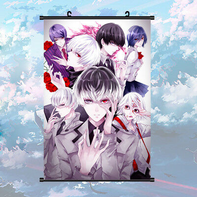 Anime Tokyo Ghoul:RE Sasaki Haise Juuzou Ken Wall Scroll Poster 40cm*60cm