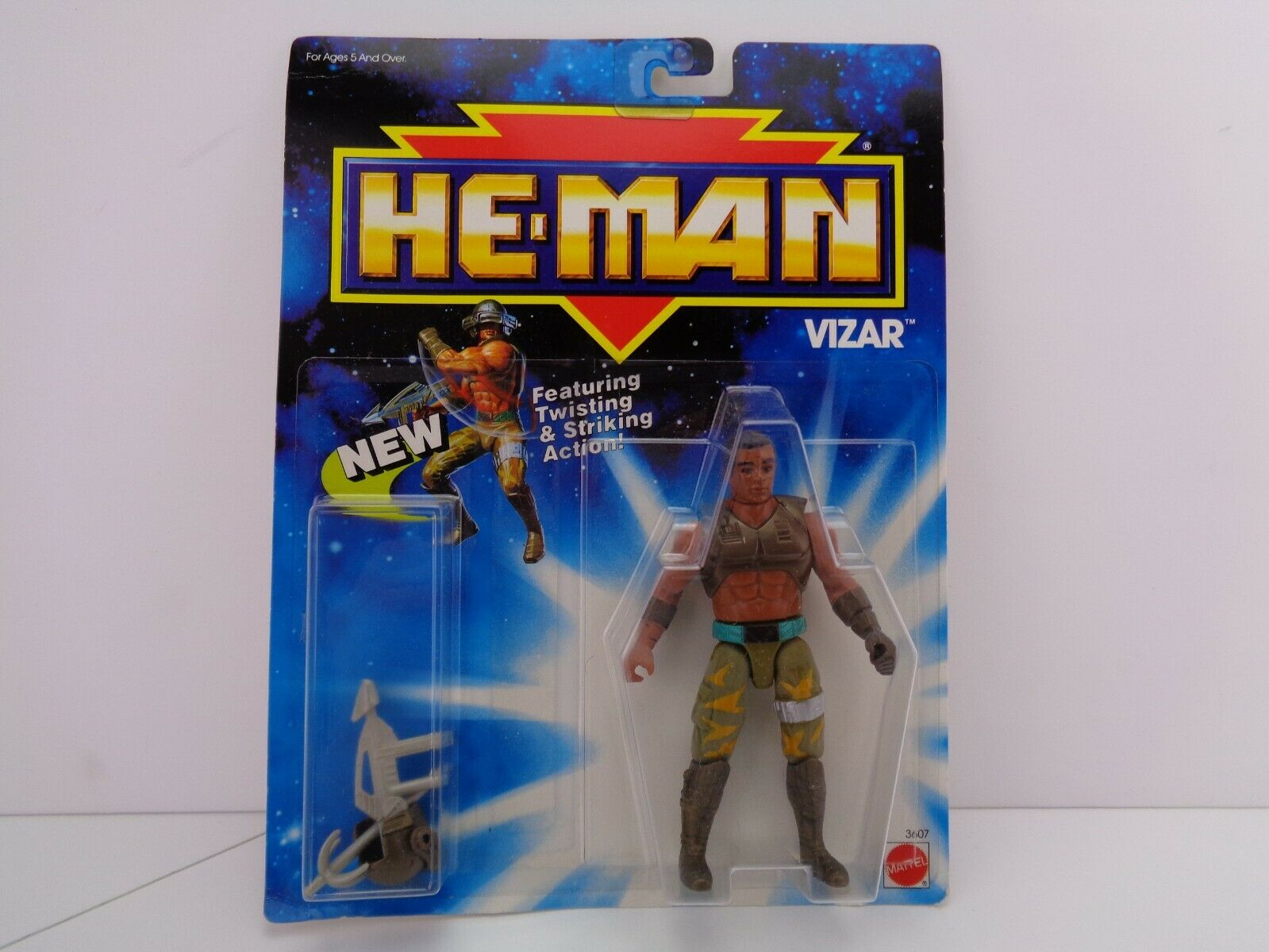 VIZAR Action Figure He-Man New Adventures maitres de l'univers  neuf scellé