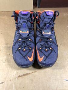 online retailer 5cbcc d65b4 Image is loading 100-Authentic-Nike-Lebron-12-Instinct-Size-12-