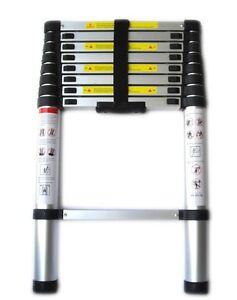 Scala in alluminio telescopica allungabile estensibile richiudibile 260 320 380