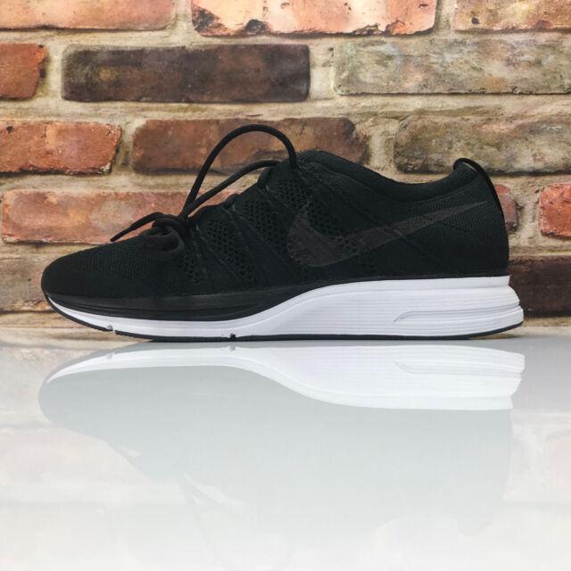 4b883c70883 Nike Flyknit Trainer Unisex Mens 9 Women 10.5 Black White AH8396-007