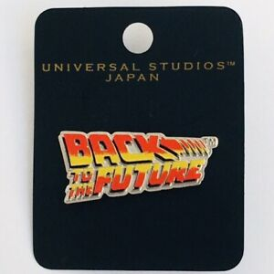 BACK-TO-THE-FUTURE-LOGO-Pin-UNIVERSAL-STUDIOS-JAPAN-2001-DELOREAN