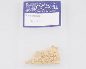 Corel B100 Crochet-Moufle 1 Yeux 3 MM (50 Pièces) Modélisme