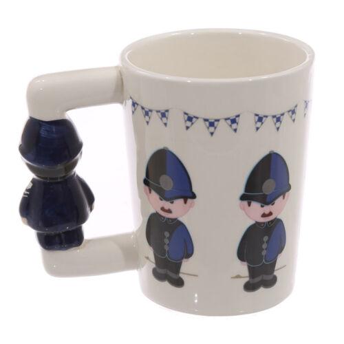 Tasse Polizei Griff Bobby Kaffeetasse Kaffeebecher Tee UK Geschenk England Fans