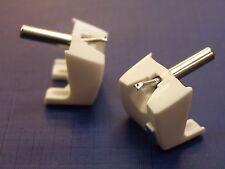 Replacement Pair of STANTON D500AL, D5107AL, D500AL MKII Record Styli Needles.