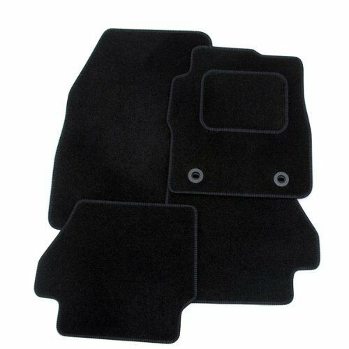 06-09 Perfect Fit Black Car Mats for Porsche Cayman S with BOSE
