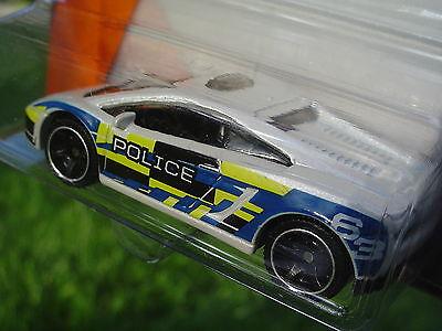 Lamborghini Gallardo LP 560-4 Police. Matchbox 81/120.  NEW in Package!