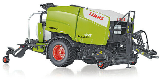 7320 claas uniwrap rollant 455, 1  3 2 wiking