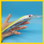 1PCS Big Minnow Sea Fishing Lure 80g//180mm Deep Sea Trolling Fishing bait