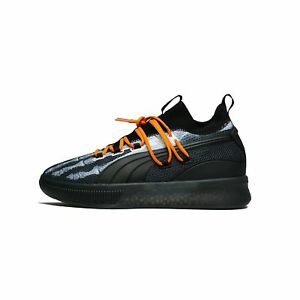 pretty nice fee85 c348e Details about Puma Clyde Court Disrupt X-Ray Halloween Black Orange  Basketball Men 191895-01