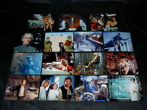 RéAliste Set Of 30 Star Wars,10 X 8 Photo Lot.large Photo's,vintage,return Jedi,empire