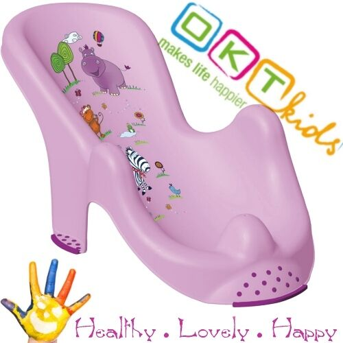 Anatomic baby bath support  chair tub seat  Hippo Keeper Brand NEW Purple