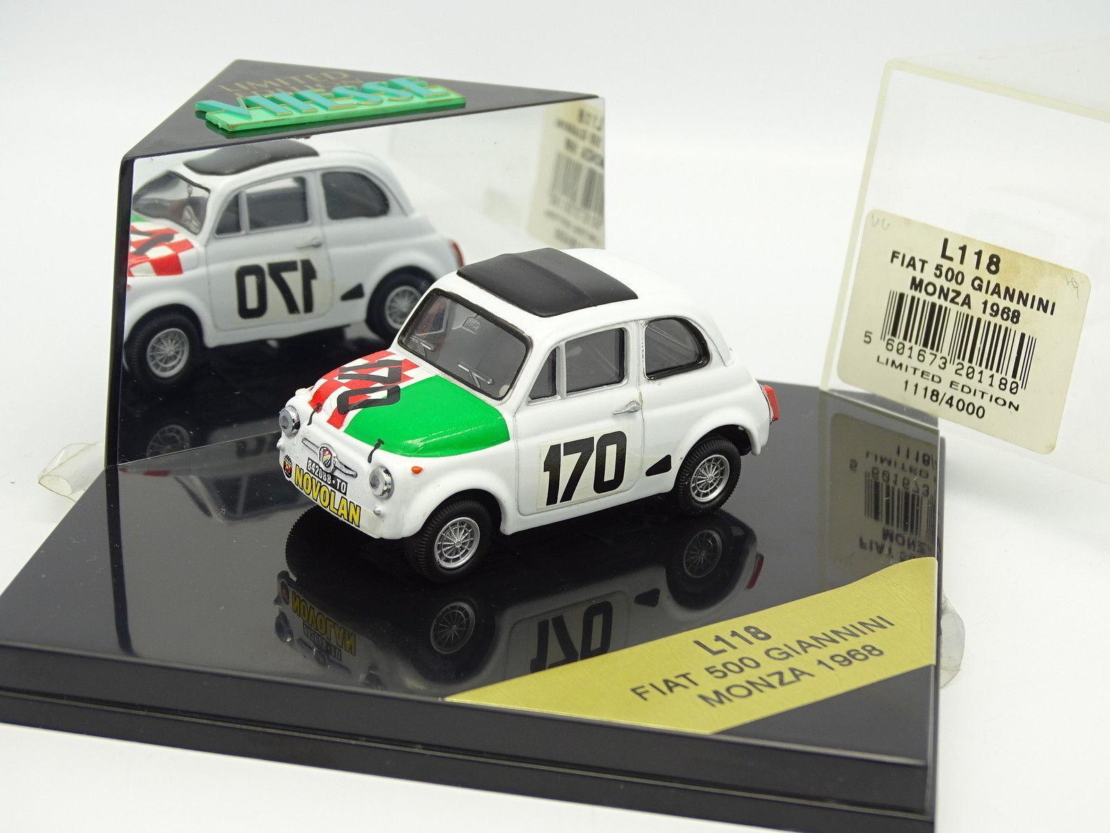 Vitesse 1 43 -  Fiat 500 Giannini Monza 1968