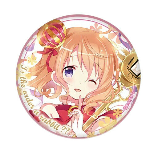 GochiUsa Is the Order a Rabbit Syaro Character Capsule Can Badge Pin Anime