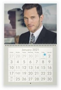 CHRIS PRATT 2021 Wall Calendar | eBay