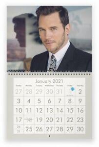 Pratt Calendar 2021 CHRIS PRATT 2021 Wall Calendar | eBay