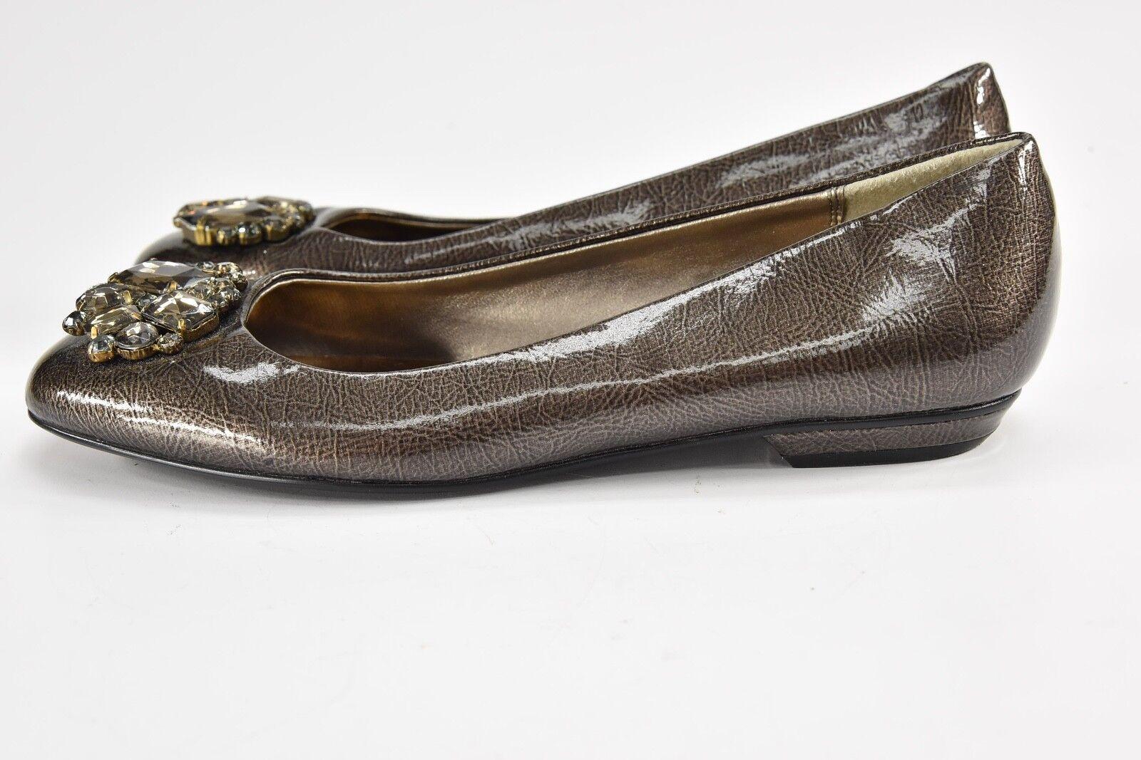 CORTEFIEL Bronze Rhinestone 39 Ballet Flats - 39 Rhinestone - BC59 45e669