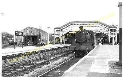 Tenby Railway Station Photo Saundersfoot Penally 9 Whitland to Pembroke.
