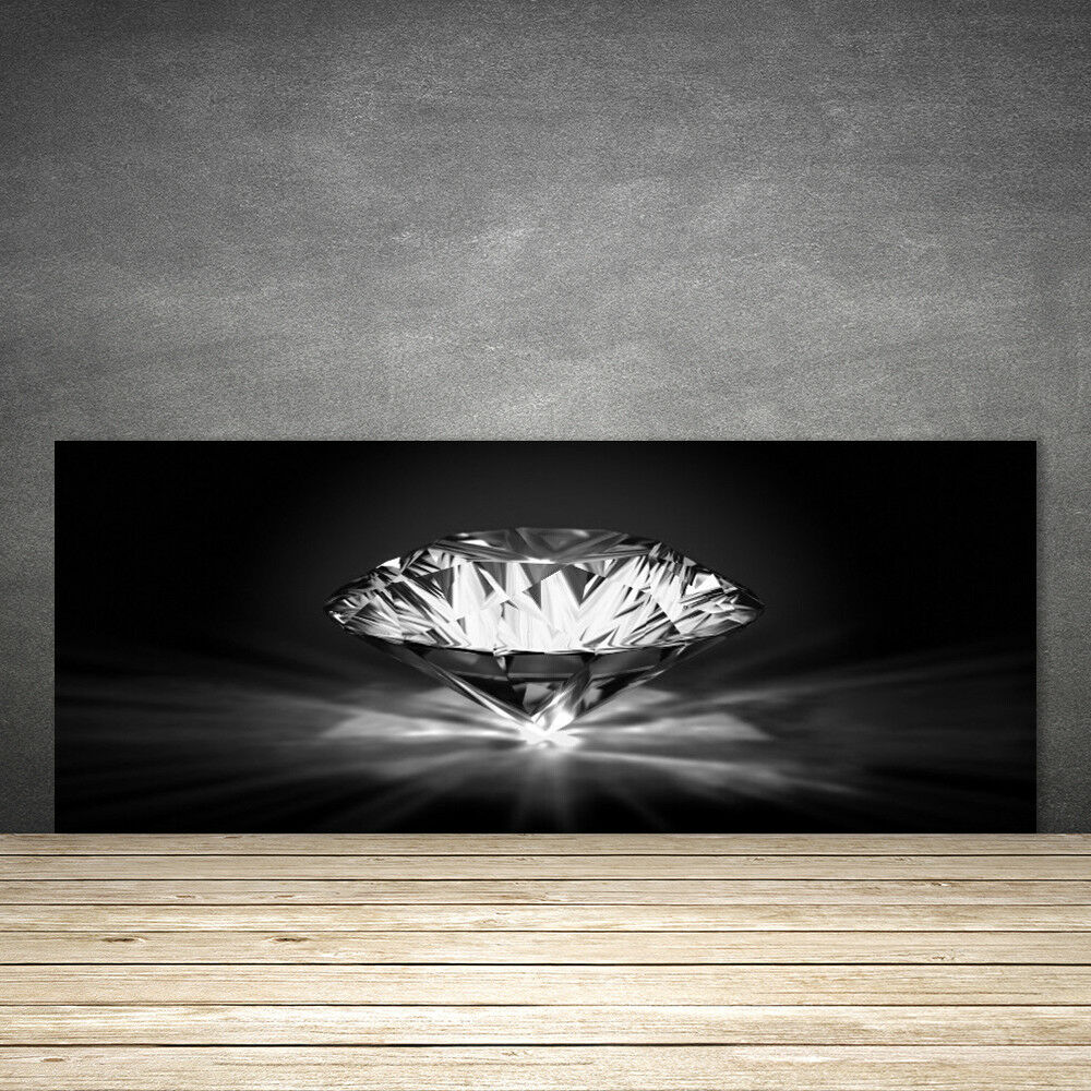 Crédence de cuisine en verre Panneau 125x50 Art Diamant