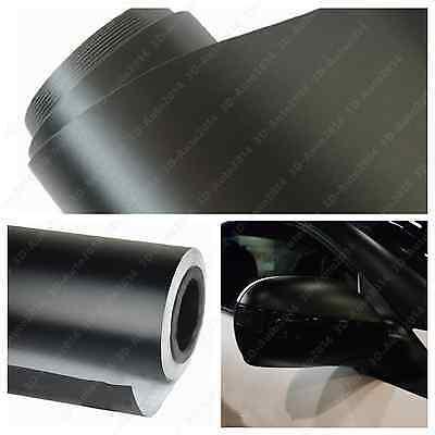 ** 5FT x 8FT FLAT MATTE BLACK Vinyl Wrap Sticker Decal Sheet Air Release 5/'x8/'