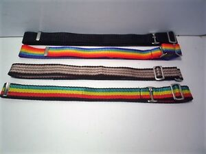 elastic boys girls  belts adjustable  sliders to fit 20 to 27 inch waist