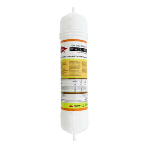 Dowex Ion Exchange Resin Cation Filter Food Grade Water Softening Nipple Type