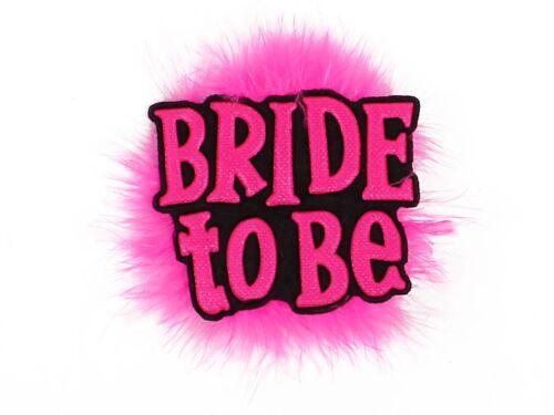 Bride to be Brosche JGA Schmuck Junggesellinnenabschied Party Anstecker