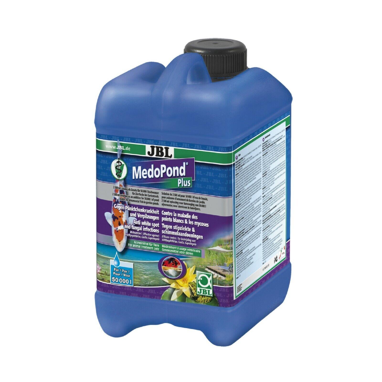 JBL MedoPond Plus 5 l für 100 m³ gegen Infektionskrankheiten Teich 24Std Vers.