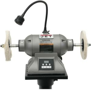 Fine Details About Bench Grinder 8 In Variable Speed 1 Hp Buffer Sharpener Polisher 3600 Rpm Gray Short Links Chair Design For Home Short Linksinfo