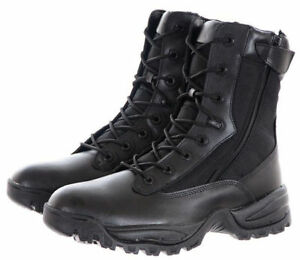 Zip 8 Military Tactical About Black Security Tec Hole Details Two Mil Lacing Boots bgIf7yvY6m