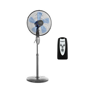 Ventilatore-Piantana-Telecomando-5-Lame-Corrente-Aria-Estate-Fresco-3-Velocita