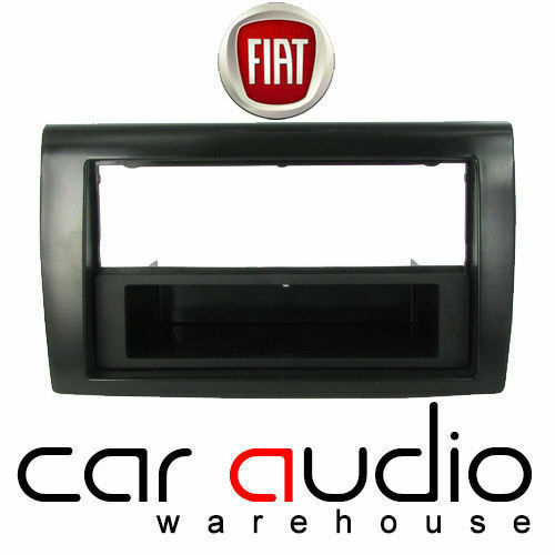 AUTOLEADS fp-01-12 FIAT BRAVO 2007 /& GT Auto Stereo Doppio Din Fascia Pannello Nero