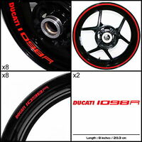 Ducati 1098r Motorcycle Sticker Decal Graphic Kit Spkfp1du003