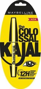 MAYBELLINE COLOSSAL KOHL EYE KAJAL BLACK SMUDGE RESISTA
