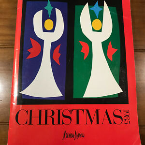 Details about Vintage Neiman Marcus 1985 Catalog The Christmas Book Ivan  Chermayeff Cover