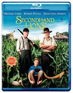 Secondhand-Lions-Blu-ray-Disc-WS-2009-Robert-Duvall-Michael-Caine-NEW